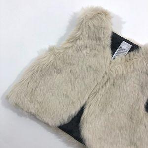 Other - Boutique cream baby girls fur vest 6-12m